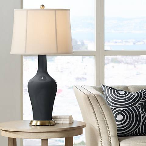 Black of Night Anya Table Lamp