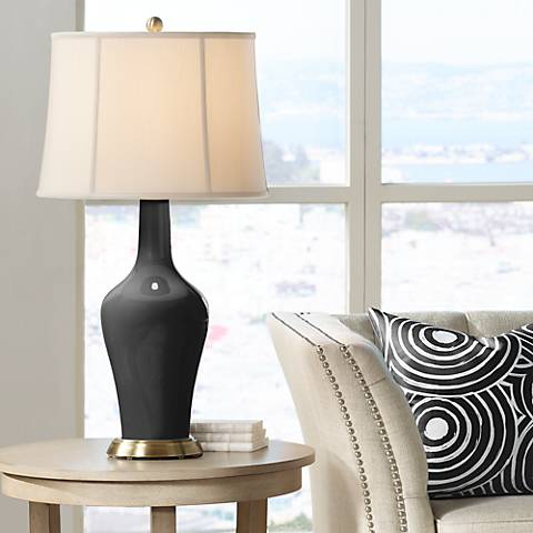 Tricorn Black Anya Table Lamp
