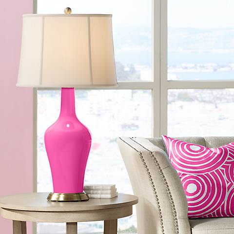 Fuchsia Anya Table Lamp