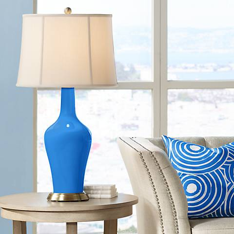 Royal Blue Anya Table Lamp
