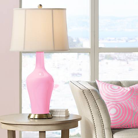 Pale Pink Anya Table Lamp