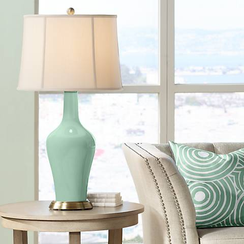 Grayed Jade Anya Table Lamp