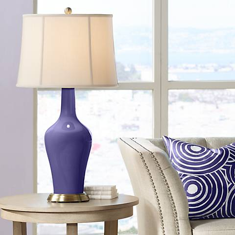 Valiant Violet Anya Table Lamp