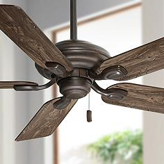 Rustic ceiling fans lodge inspired fan designs lamps plus 52 mozeypictures Image collections