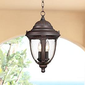 Outdoor Hanging Lantern Light Fixtures Lamps Plus