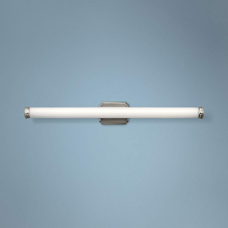 "Kichler Cambria 38 1/2"" Wide Brushed Nickel LED Bath Light"