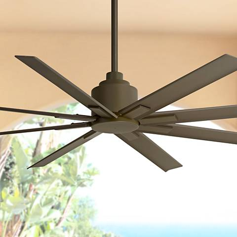 "65"" Minka Aire Xtreme H20 Bronze Wet Ceiling Fan"