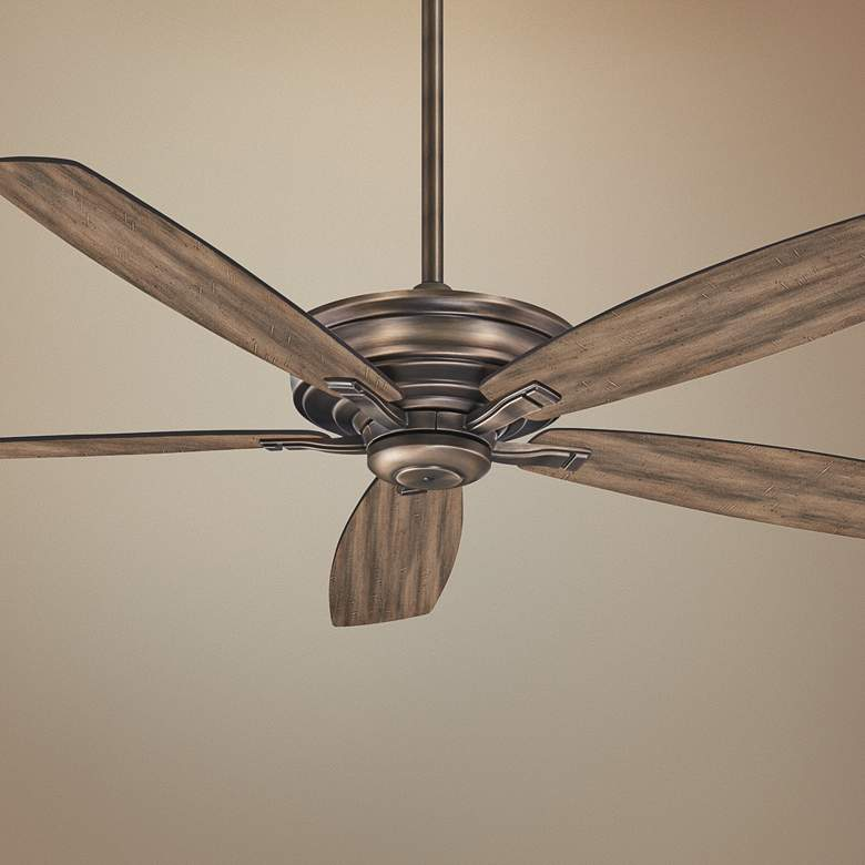 "52"" Minka Aire Kafe Heirloom Bronze Ceiling Fan"