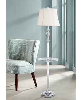 super popular f1b1f ba28a Floor Lamps With Tray Table | Lamps Plus