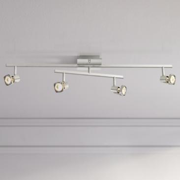 Pro Track® 2-Tier Adjustable 4-Light Ceiling Light Fixture