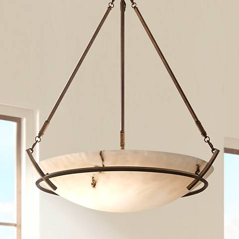 "Calavera Collection 33"" Wide Five Light Pendant Chandelier"