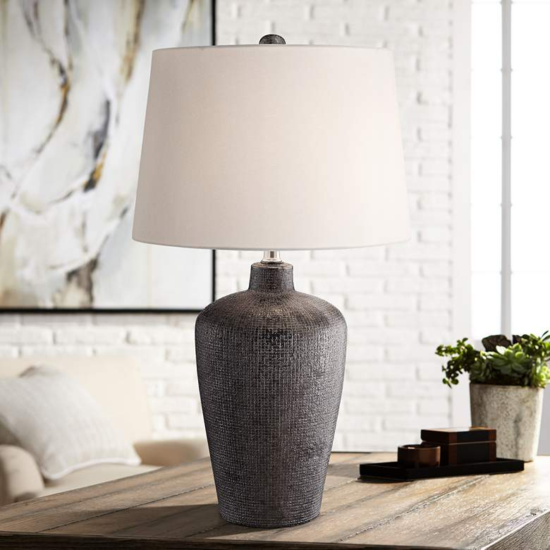 Lite Source Clayton Bronze Ceramic Table Lamp