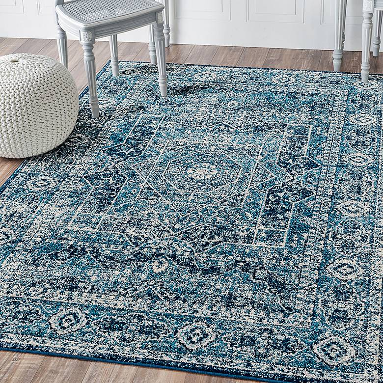 Abigail Britta Midnight Blue Area Rug