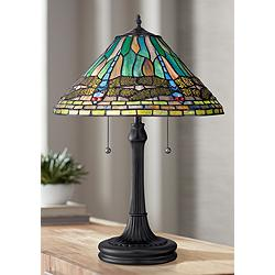 Quoizel King Vintage Bronze Table Lamp