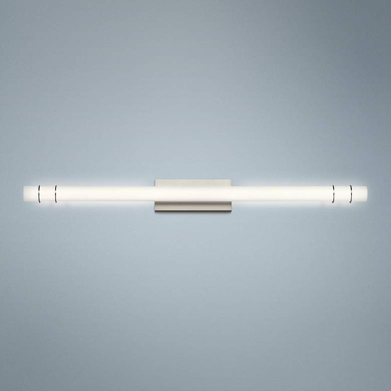 "Kichler Korona 48 1/2"" Wide Brushed Nickel LED"