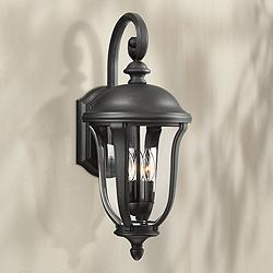"Park Sienna 22 1/4"" High Downbridge Arm Outdoor Wall Light"