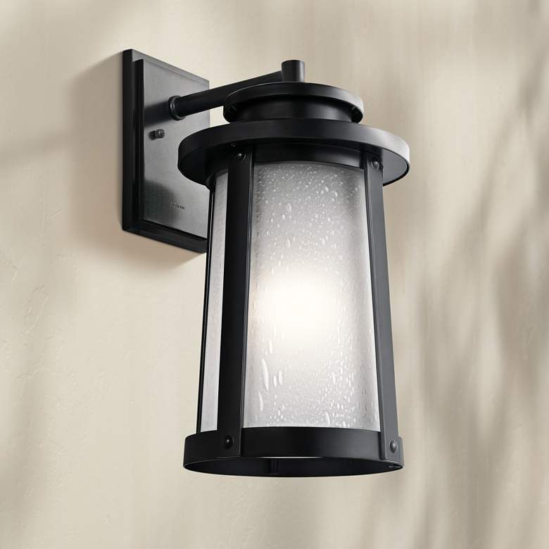 "Kichler Harbor Bay 18 1/2"" High Black Outdoor"