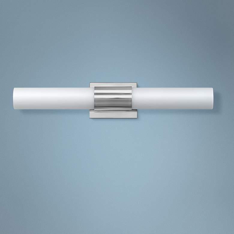 "Hinkley Portia 24 1/2"" Wide Polished Nickel LED"
