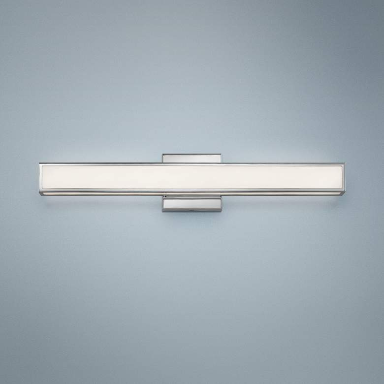 "Hinkley Alto 24"" Wide Chrome LED Bath Light"