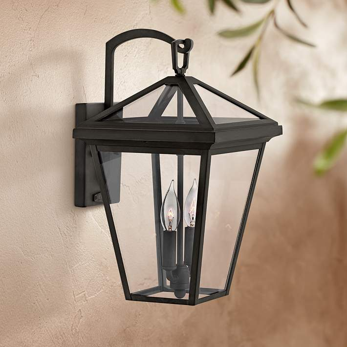 Alford Place 17 1 2 High Museum Black Outdoor Wall Light 44t54 Lamps Plus
