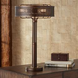 Felix Industrial Metal Table Lamp by Franklin Iron Works