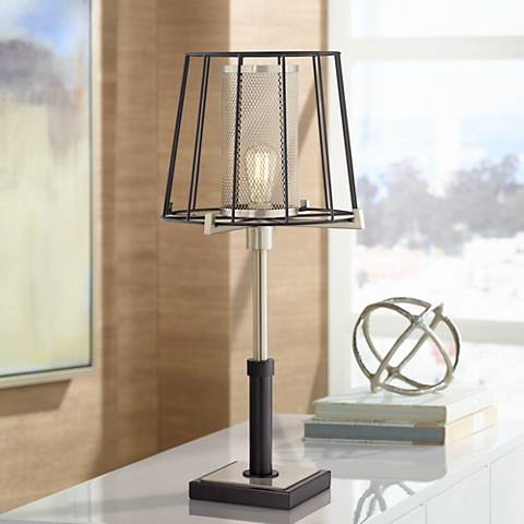 Linus Metal Industrial Table Lamp