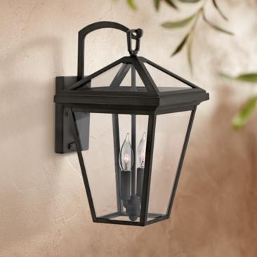 "Alford Place 17 1/2"" High Museum Black Outdoor Wall Light"
