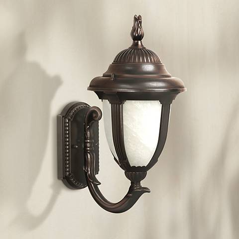 "Casa Sorrento™ Bronze 19 1/8"" High Outdoor Wall Light"