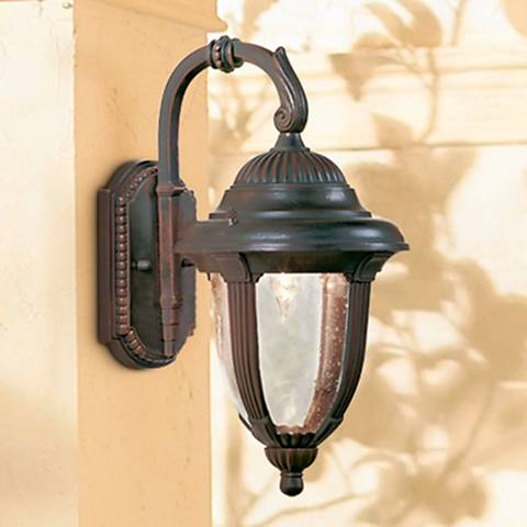"Casa Sierra™ 14 1/2"" High Bronze Outdoor Wall Light"