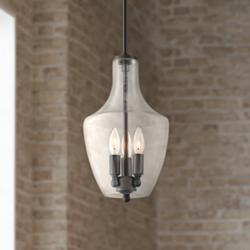 "Ellison 9"" Wide Bronze 3-Light Mini Pendant"