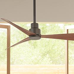 "44"" Minka Aire Simple Oil-Rubbed Bronze Outdoor Ceiling Fan"