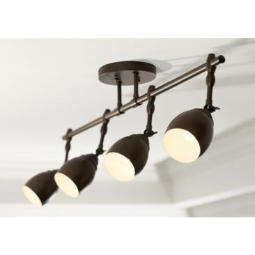 Pro Track Elm Park 4-Light Oiled Rubbed Bronze Track Fixture
