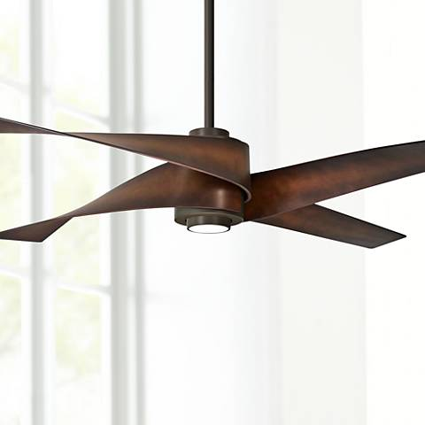 64 Quot Minka Aire Artemis Iv Oil Rubbed Bronze Dc Ceiling Fan