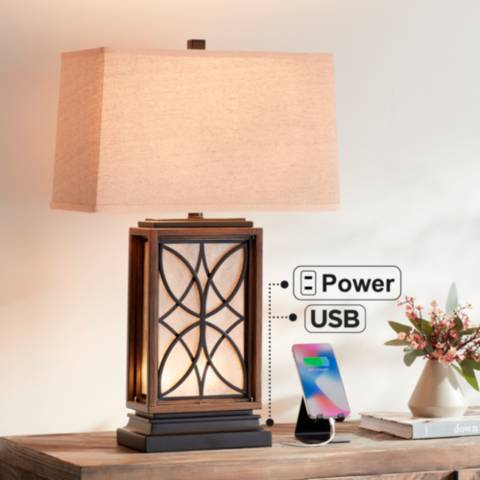 Arthur Night Light Table Lamp With Usb Port 46c80