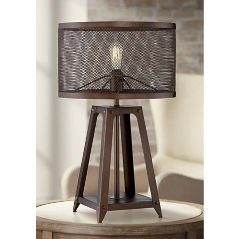 Gabe Metal Industrial Table Lamp