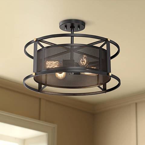 "Possini Euro Humboldt 20 3/4"" Wide 4-Light Ceiling Light"