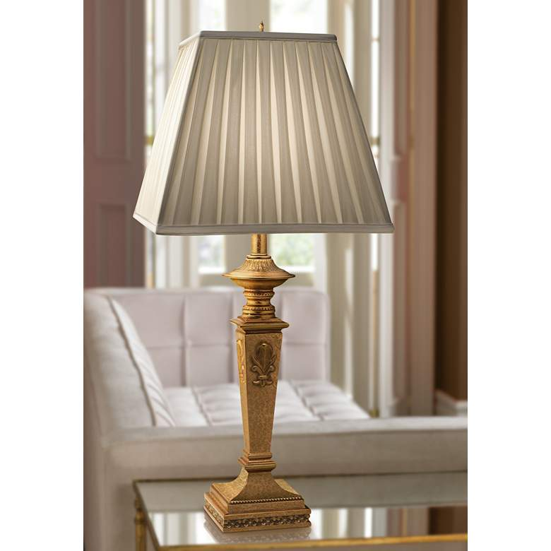 Stiffel Angelica French Gold Table Lamp