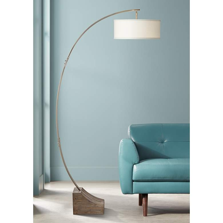 "Uttermost 78"" High Valance Arc Floor Lamp"