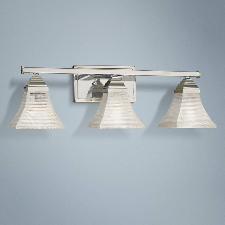 "Conspire 24"" Wide Chrome 3-Light Bath Light"