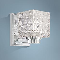 "Glorietta 6"" High Chrome LED Wall Sconce"