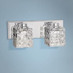 "Glorietta 6"" High Chrome 2-Light LED Wall Sconce"