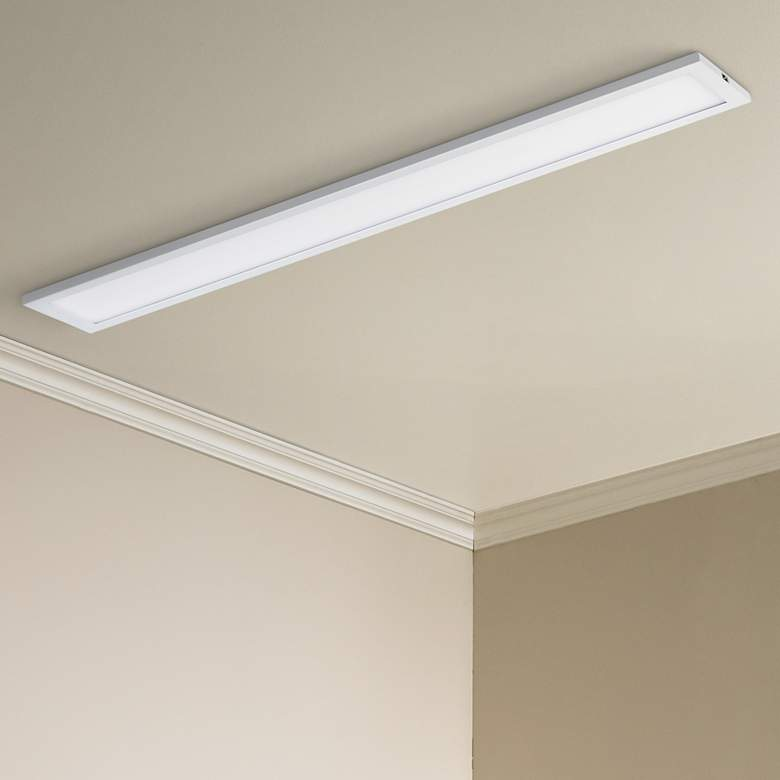 "Maxim Wafer 24"" Wide White 3000K LED Linear Ceiling Light"