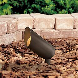 Hinkley Bronze Low Voltage Landscape Spotlight