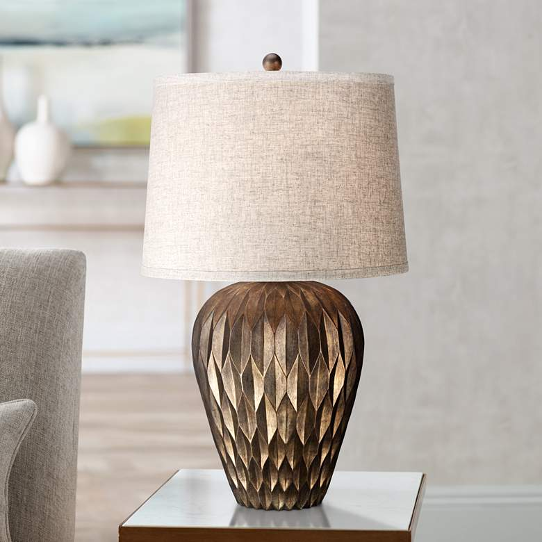 Buckhead Bronze Urn Table Lamp