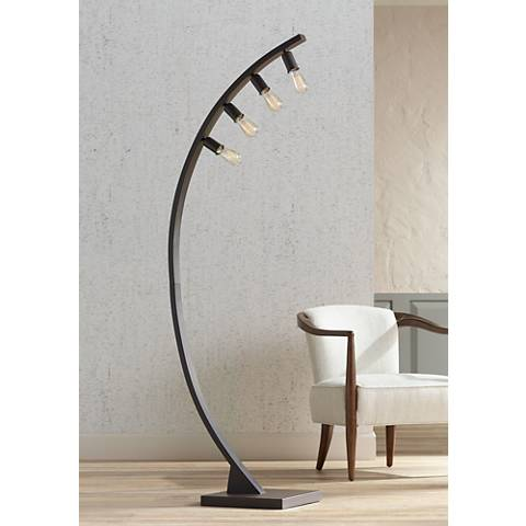 Franklin Iron Works™ Arcos Bronze Arch Floor Lamp