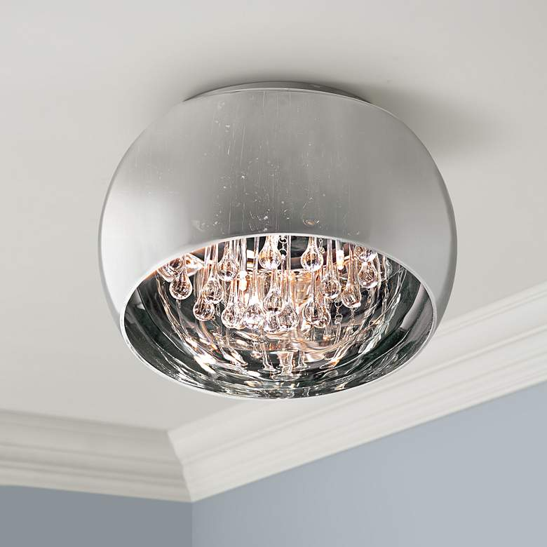 "ET2 Sense 15 3/4"" Wide Polished Chrome Ceiling"