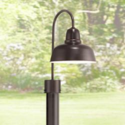 "Urban Barn Collection 15 3/4"" High Bronze Outdoor Post Light"