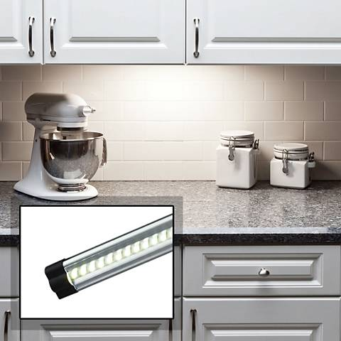 grayson slim 24 wide led under cabinet light kit 4m867 lamps plus. Black Bedroom Furniture Sets. Home Design Ideas