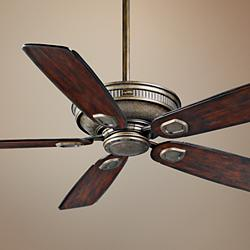"60"" Casablanca Heritage Aged Bronze Outdoor Ceiling Fan"
