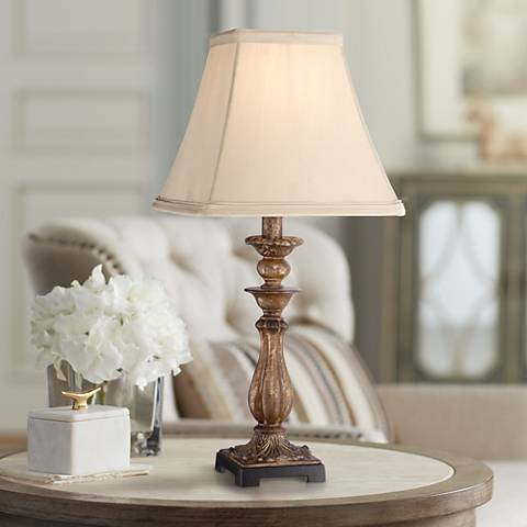 "Alzano Light Bronze 18"" High Accent Table Lamp"